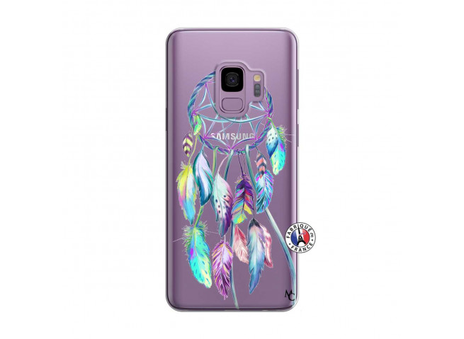 Coque Samsung Galaxy S9 Plus Blue Painted Dreamcatcher