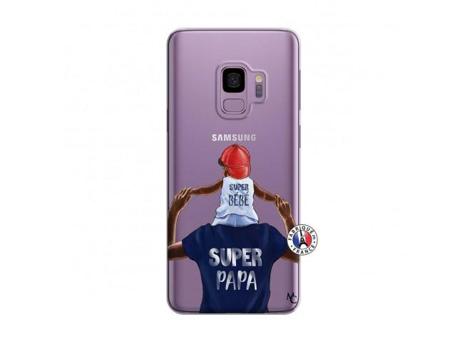 Coque Samsung Galaxy S9 Plus Papa Super Heros