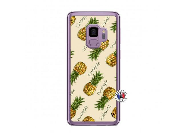 Coque Samsung Galaxy S9 Plus Sorbet Ananas Translu