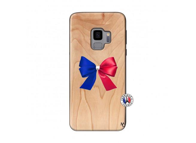 Coque Bois Galaxy S9 Allez Les Bleues