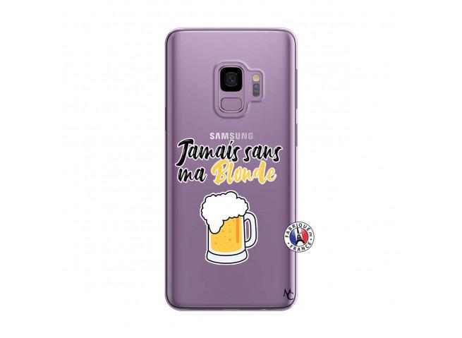 Coque Samsung Galaxy S9 Jamais Sans Ma Blonde