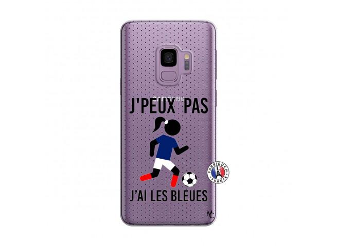 Coque Samsung Galaxy S9 Je Peux Pas J Ai Les Bleues Maillot