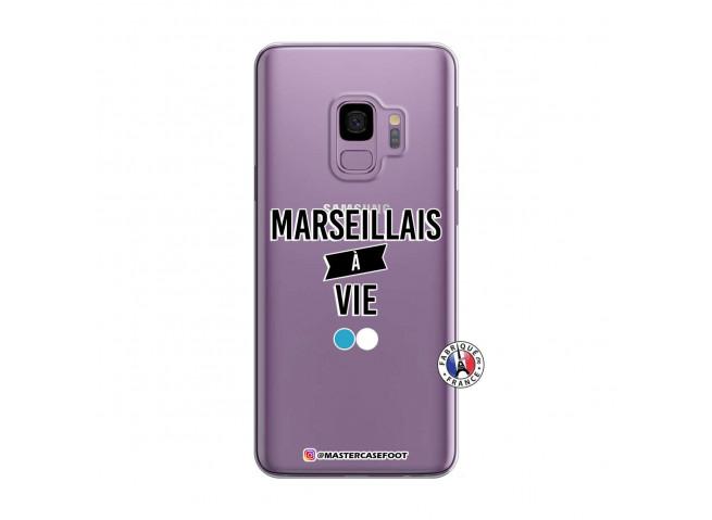 Coque Samsung Galaxy S9 Marseillais à Vie