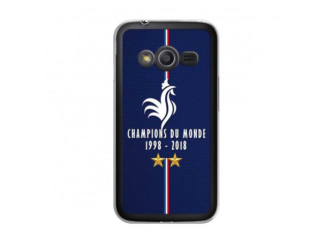 Coque Samsung Galaxy Trend 2 Lite Champions Du Monde 1998 2018 Transparente