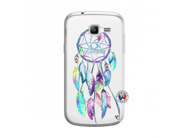 Coque Samsung Galaxy Trend Lite Blue Painted Dreamcatcher