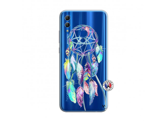 Coque Huawei Honor 10 Lite Blue Painted Dreamcatcher