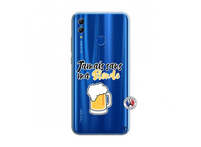 Coque Huawei Honor 10 Lite Jamais Sans Ma Blonde