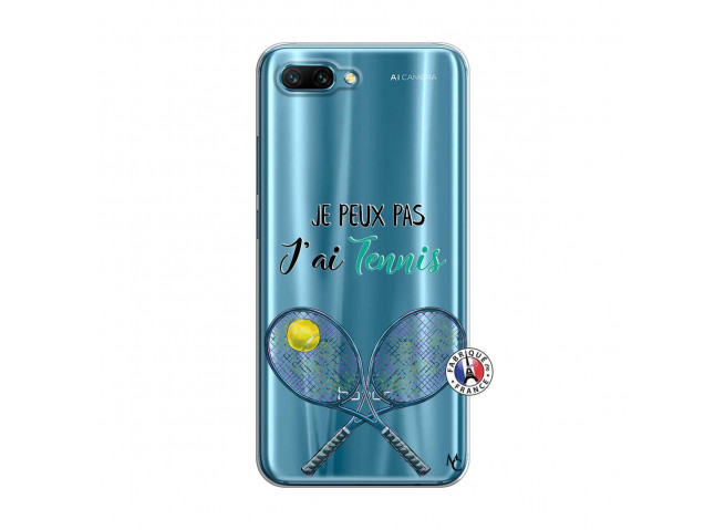 Coque Huawei Honor 10 Je Peux Pas J Ai Tennis