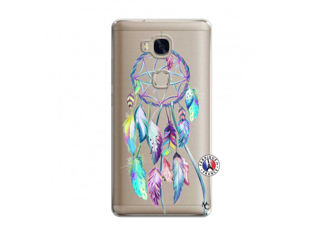Coque Huawei Honor 5X Blue Painted Dreamcatcher