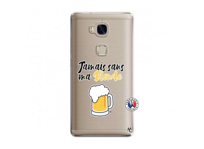 Coque Huawei Honor 5X Jamais Sans Ma Blonde