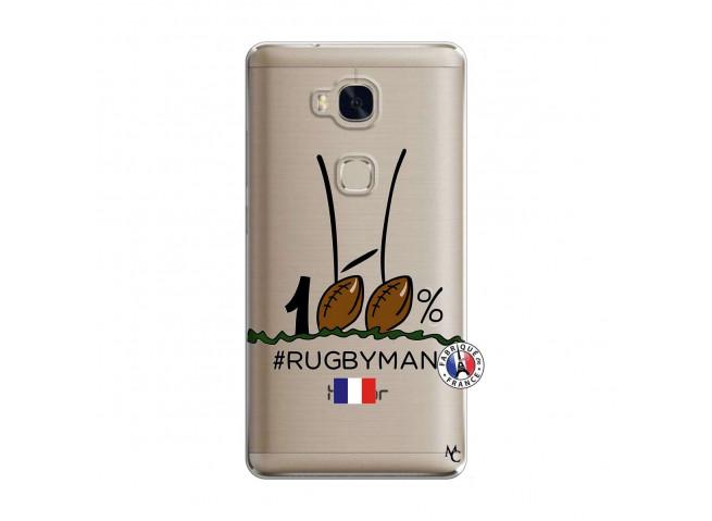 Coque Huawei Honor 5X 100 % Rugbyman Entre les Poteaux