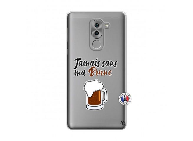 Coque Huawei Honor 6X Jamais Sans Ma Brune