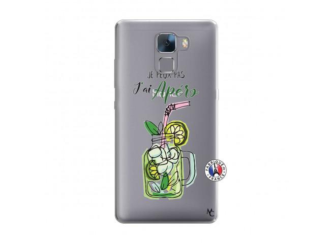 Coque Huawei Honor 7 Je peux pas J'ai Apéro