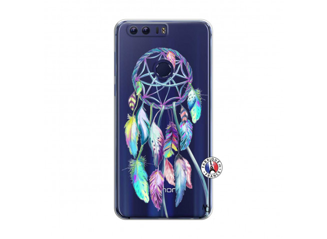 Coque Huawei Honor 8 Blue Painted Dreamcatcher