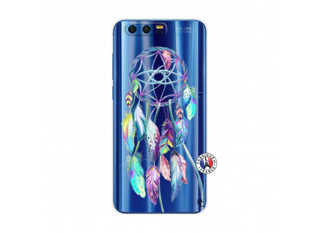Coque Huawei Honor 9 Blue Painted Dreamcatcher