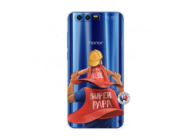 Coque Huawei Honor 9 Super Papa et Super Bébé
