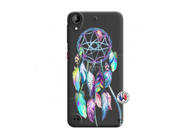 Coque HTC Desire 530 Blue Painted Dreamcatcher