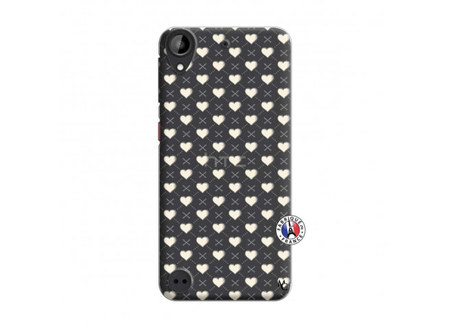 Coque HTC Desire 530 Little Hearts