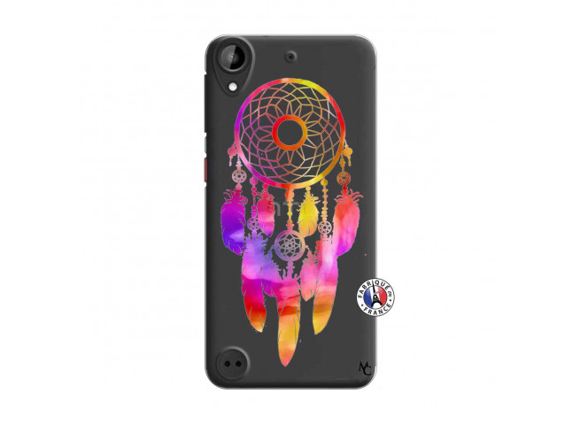 Coque HTC Desire 530 Dreamcatcher Rainbow Feathers