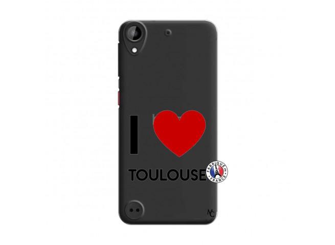 Coque HTC Desire 530 I Love Toulouse