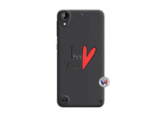Coque HTC Desire 530 I Love You