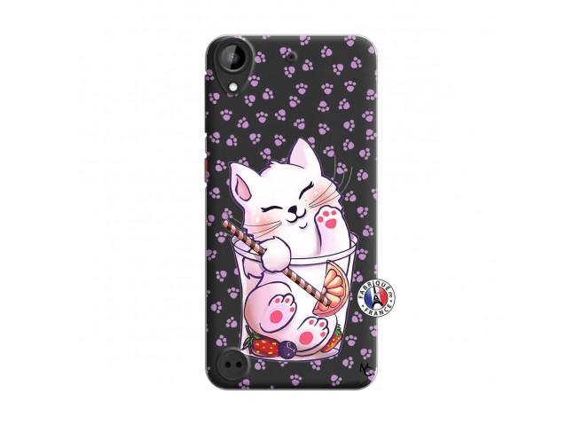 Coque HTC Desire 530 Smoothie Cat