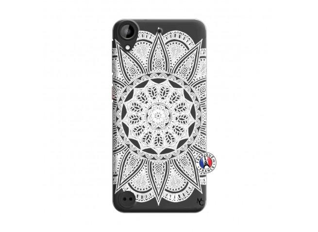 Coque HTC Desire 530 White Mandala