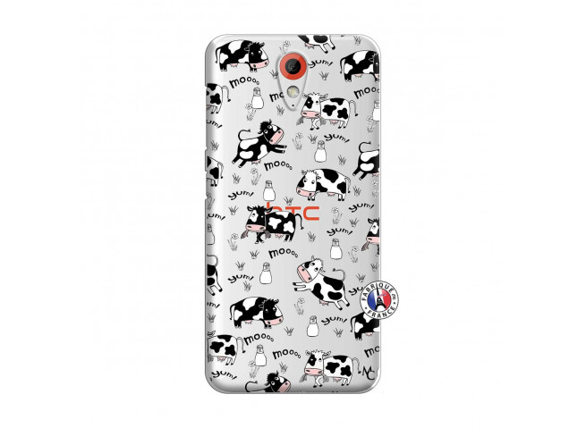 Coque HTC Desire 620 Cow Pattern