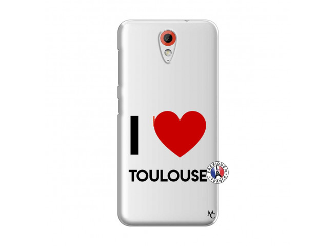 Coque HTC Desire 620 I Love Toulouse