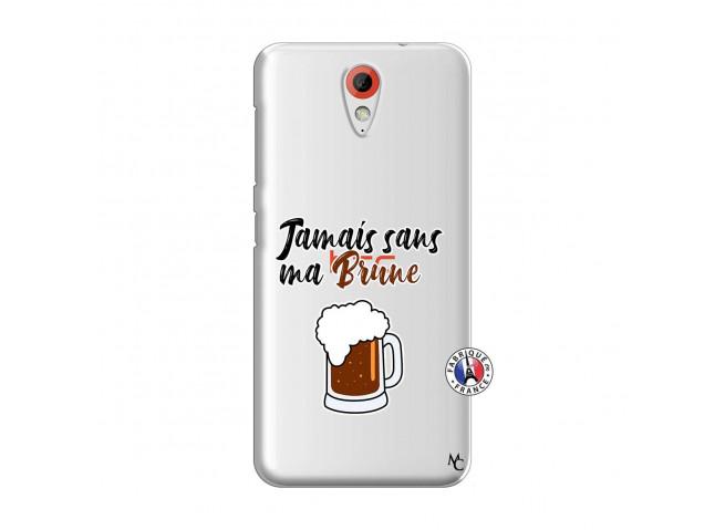 Coque HTC Desire 620 Jamais Sans Ma Brune
