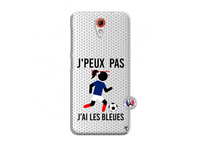 Coque HTC Desire 620 Je Peux Pas J Ai Les Bleues Maillot