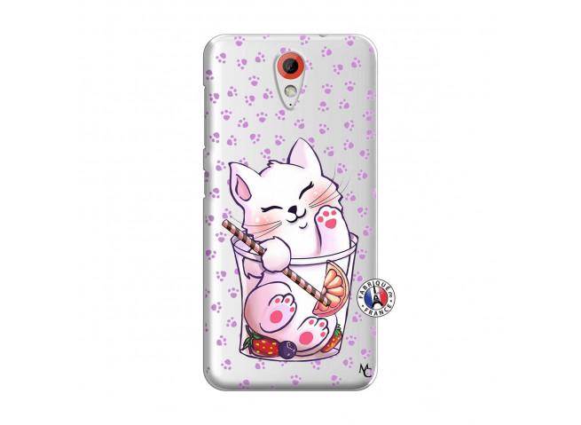 Coque HTC Desire 620 Smoothie Cat