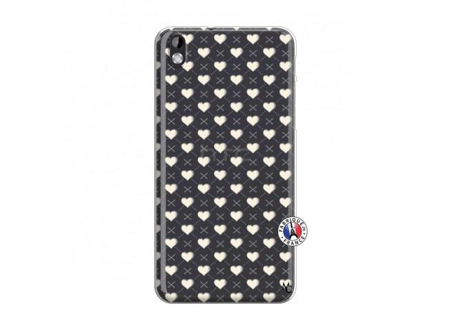 Coque HTC Desire 816 Little Hearts