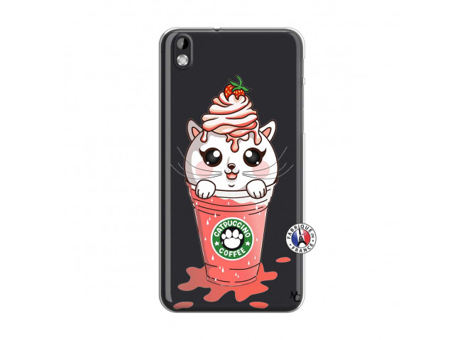 Coque HTC Desire 816 Catpucino Ice Cream