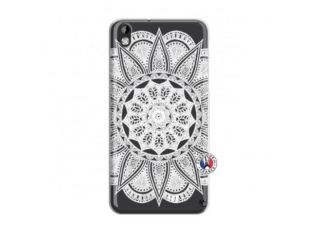 Coque HTC Desire 816 White Mandala