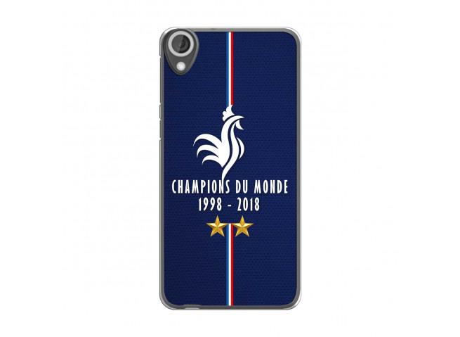Coque Htc Desire 820 Champions Du Monde 1998 2018 Transparente