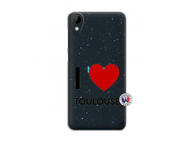 Coque HTC Desire 825 I Love Toulouse
