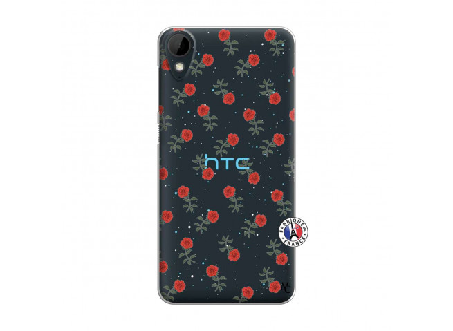 Coque HTC Desire 825 Rose Pattern