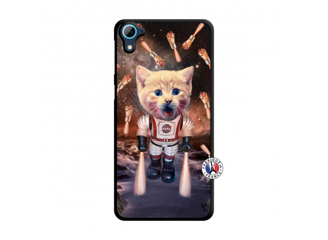 Coque HTC Desire 826 Cat Nasa Translu