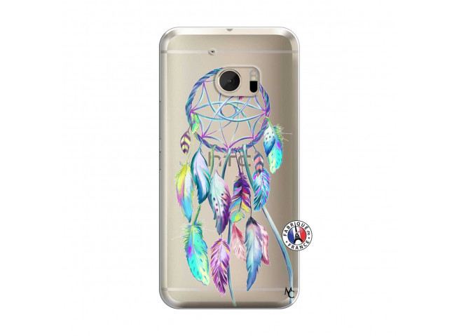 Coque HTC ONE M10 Blue Painted Dreamcatcher