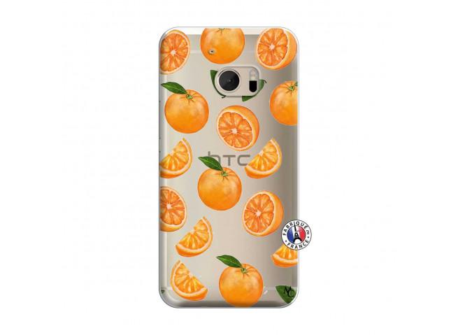 Coque HTC ONE M10 Orange Gina