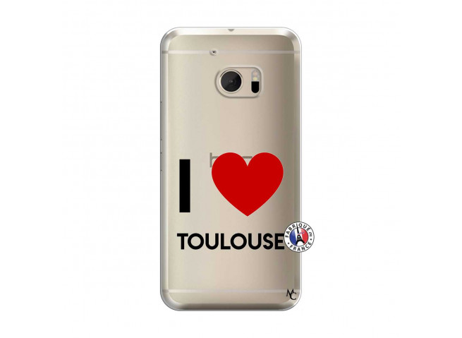 Coque HTC ONE M10 I Love Toulouse