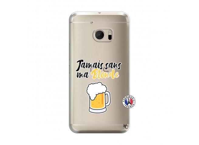 Coque HTC ONE M10 Jamais Sans Ma Blonde