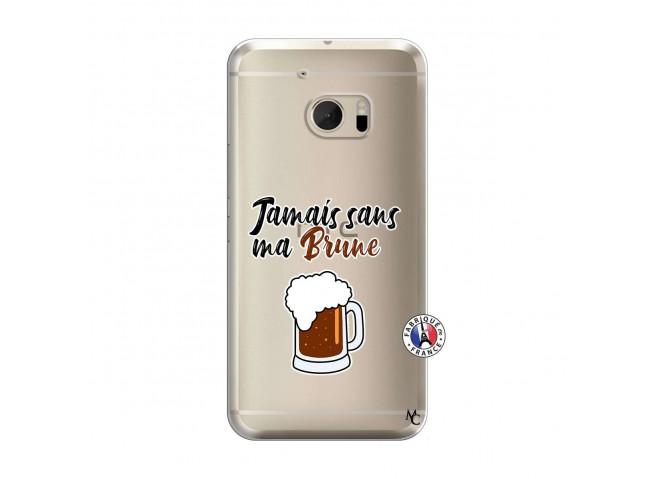 Coque HTC ONE M10 Jamais Sans Ma Brune
