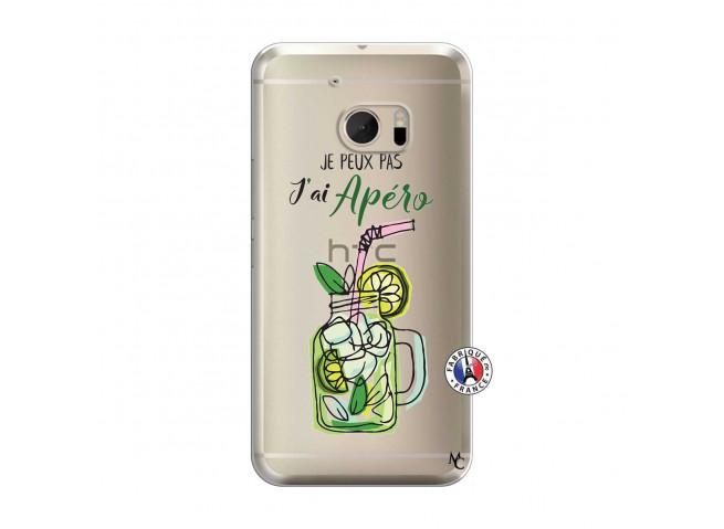 Coque HTC ONE M10 Je peux pas J'ai Apéro