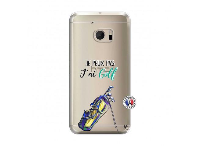 Coque HTC ONE M10 Je Peux Pas J Ai Golf