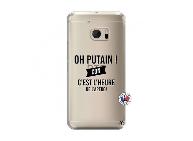 Coque HTC ONE M10 Oh Putain C Est L Heure De L Apero