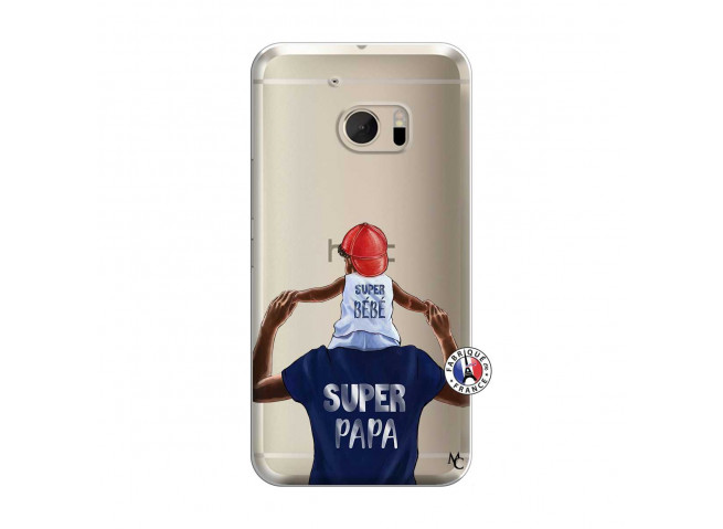 Coque HTC ONE M10 Papa Super Heros