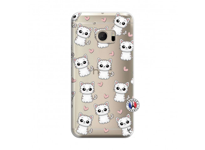 Coque HTC ONE M10 Petits Chats