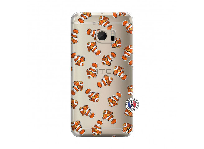 Coque HTC ONE M10 Petits Poissons Clown